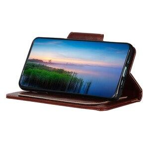 Image 5 - 6 fentes pour cartes portefeuille Flip étui en cuir pour Xiaomi A3 Lite 9 SE 9T Pro Redmi Note 8 Pro 7 7A K20 Pro fermeture magnétique cartes poche