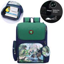 Kids Backpack School Bag Dinosaur Cartoon Cute Large Backpack Boys Girls Bag For Children Kids Birthday Gifts Dropshipping