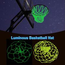 New High-quality Basketball Net Luminous Outdoor Glowing Nylon Replacement Standard Size durable support wholesale