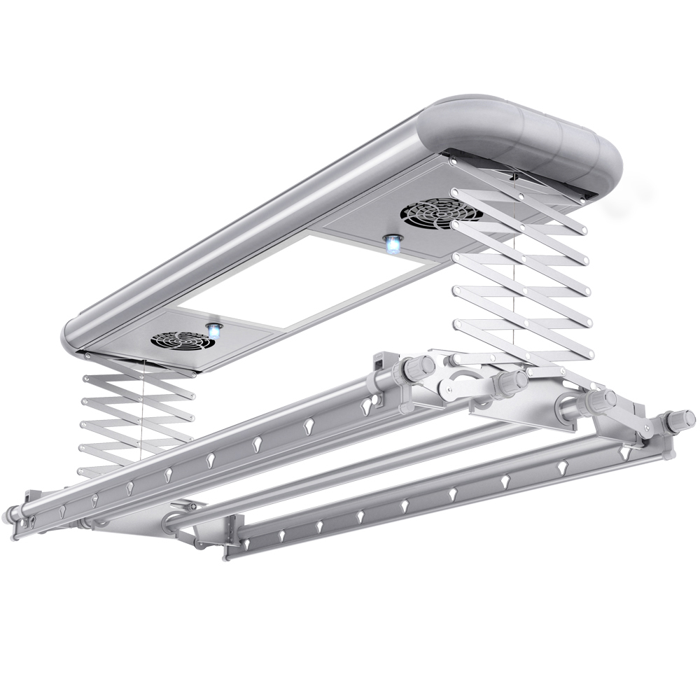 Home Balcony Ceiling Automated Electric Clothes Drying Rack And Hanger