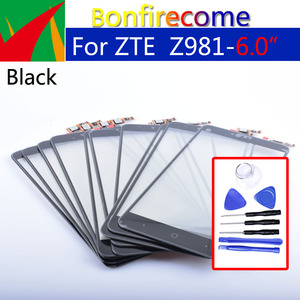 For ZTE ZMax Pro Z981 Touch Screen Panel Digitizer Sensor Front Glass Outer Touchscreen Replacement 6.0 inch