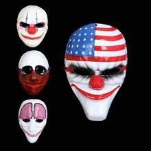 Clown Halloween Masks Scary Horrible Masquerade Party mask Payday 2 masked ball Cosplay masque Purge  Mask