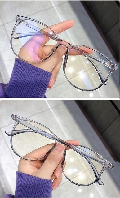 Blue Light Blocking Glasses 2020 Women Oversized Eyeglasses Anti Blue Light Computer Glasses Men Safety Eyewear Spectacle 6