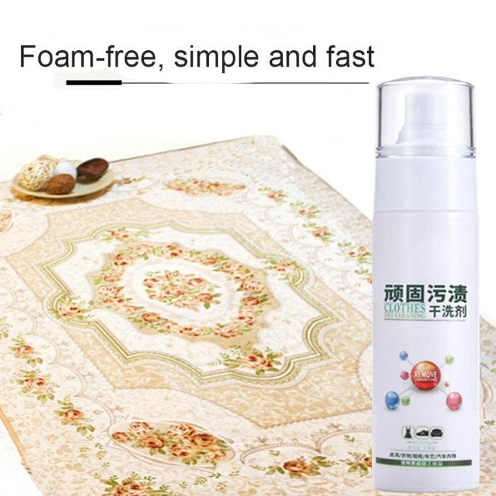 Removedor de manchas de tapete instantâneo lavagem-livre