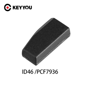 KEYYOU Car Key Transponder Chip ID46 Blank Not Coded Key For Honda Hyundai Kia Mitsubishi Nissan Citroen Peugeot PCF7936 Chip