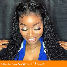 13 #215 6 Lace Front Human Hair Wigs Malaysia Long Jet Black Curly Hair Transparent Wigs Pre Plucked With Baby Hair Natural Looking cheap Humble Mountain Remy Hair Straight Malaysia Hair Average Size Darker Color Only Swiss Lace