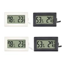 1Pc Mini Indoor Thermometer Digital LCD Temperature Sensor Humidity Meter Thermometer