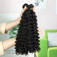 BD Hair Deep Wave Human Hair Bundles Malaysian Remy Hair Extension Cuticle Aligned Hair Natural Color Hair Weave