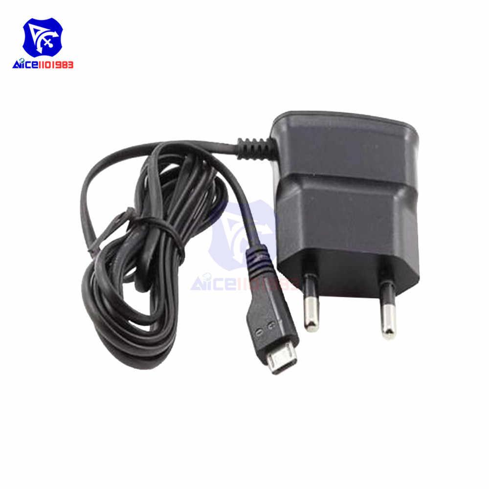 Phích Cắm EU 5V Sạc Nhanh Sạc Micro USB Sạc Adapter Cho Huawei Xiaomi LG Sony Samsung Điện Thoại Di Động 70cm