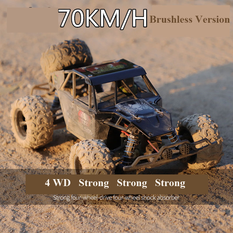 High-speed 50km/h  Professional Adult  RC Car  4WD Game High Speed Rcing Car  Mountain Car  Motor Power 380