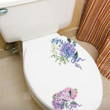 1PCS Waterproof Wall Stickers Toilet Refrigerator Cabinet Glass Diagonal Decorative Creative Sticker