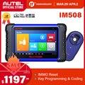 Autel MaxiIM IM508 OBD2 автомобильный сканер IMMO ключ Программирование IM608 диагностический инструмент ключ программист обновленный OtoSys IM100