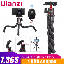 Ulanzi MT 11 voyage Flexible pieuvre trépied pour Smartphone reflex numérique Vlog trépied pour appareil photo iPhone Huawei Portable 2 en 1 trépied