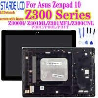 AAA Z300M P00C Z300C Z301MFL ML P00L Z300CNL P01T LCD para Asus Zenpad 10 LCD pantalla táctil montaje con marco digitalizador