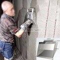 Штукатурный инструмент из нержавеющей стали, инструменты для штукатурки стен, бетонный мастерок, скоблящий пылесборник, порошковый настен...