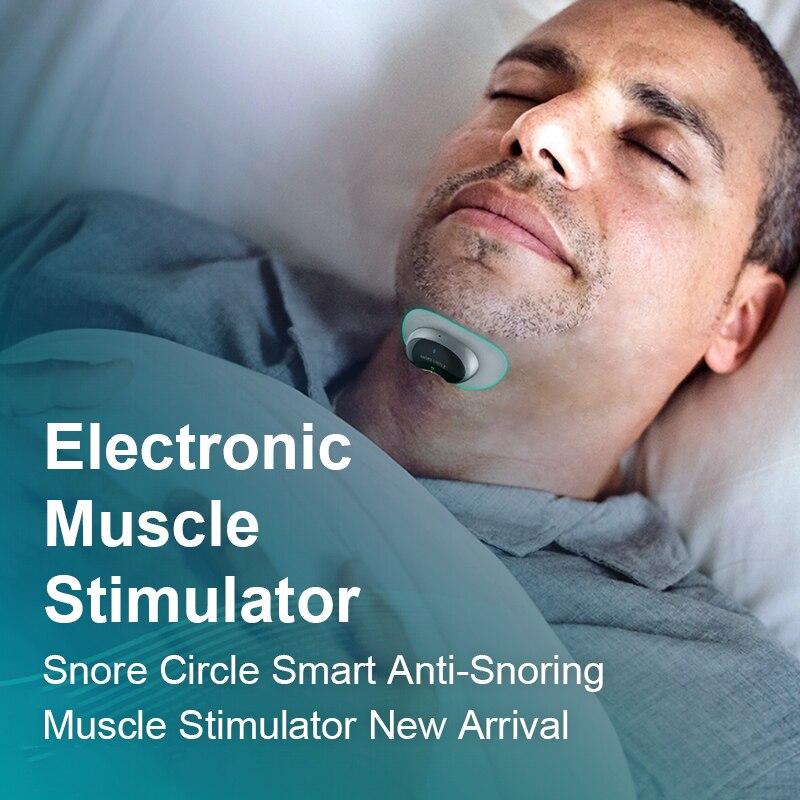 Snore stopper Anti Snore Prevents Smart Anti-Snoring Muscle Stimulator Comfortable Sleep Snoring Solution prevent Sleep Apnea