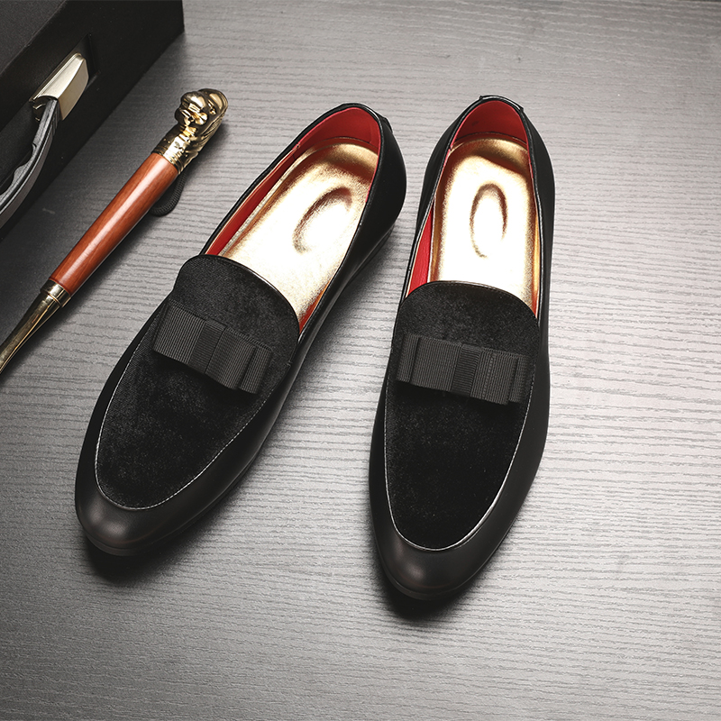 New Men Dress Shoes Shadow Patent Leather Luxury Fashion Groom Wedding Shoes Men Luxury italian style Oxford Shoes Big Size 48 4