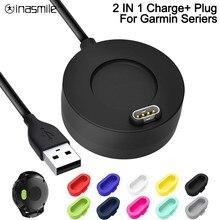 Зарядный кабель для передачи данных для смарт-часов Garmin Vivoactive 3 зарядное устройство 4s 935 USB док-станция для 945 245 Fenix 5S зарядное устройство 5 5X ...