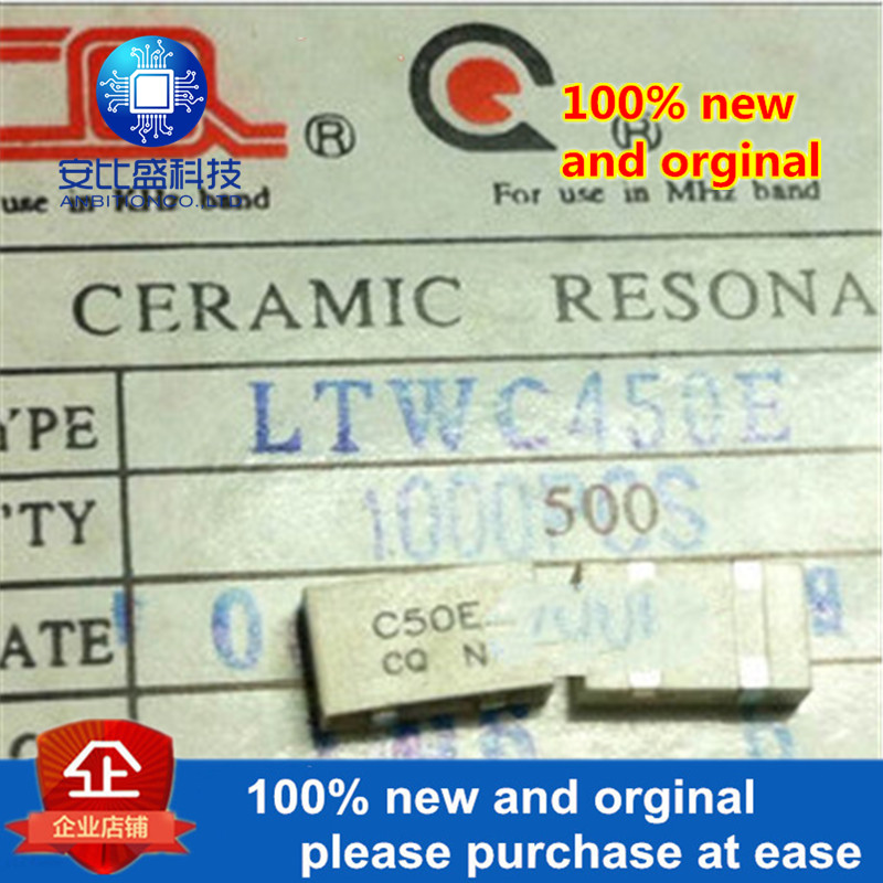 5pcs 100% New And Orginal Interphone Filter Patch Filter LTWC450E 450KHZ SMD 4pin In Stock