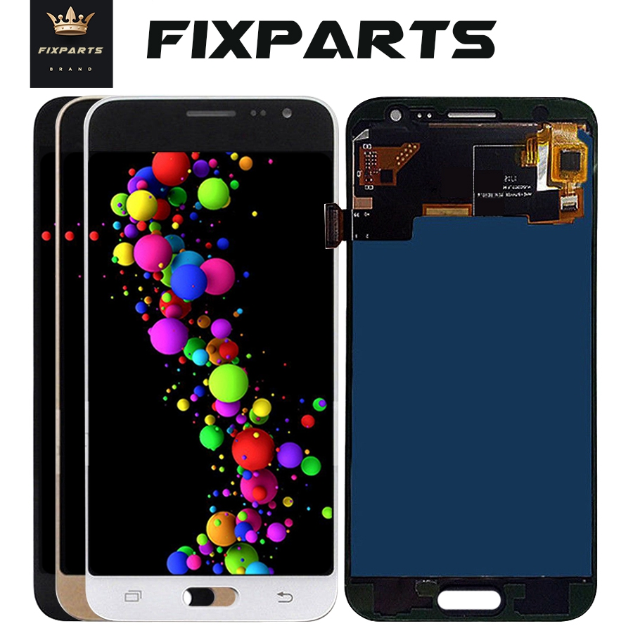 Black 5.0LCD for SAMSUNG Galaxy J3 2015 LCD <font><b>Display</b></font> J300 J300F J300H Touch Screen Digitizer Replacement <font><b>J5</b></font> 2015 For Samsung <font><b>J500</b></font> image