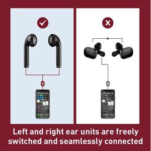 Image 5 - Baseus W04 Pro TWS Không Dây Bluetooth Tai Nghe 5.0 Tai Thật Tai Nghe Nhét Tai Không Dây Mini Không Dây Tai Nghe Dành Cho Điện Thoại Xiaomi