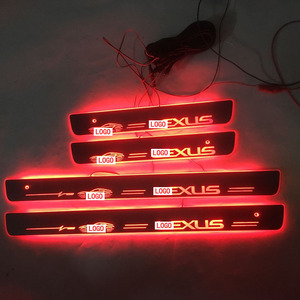Image 5 - 4PCS/set Applicable to LLEXUS Streaming colour LED Lamp Door sills Welcome Pedal/Dynamic Lighting Vehicle Threshold For LEXUS ES