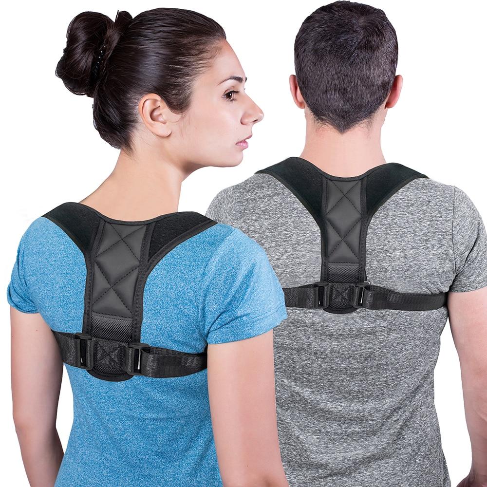 Медицинский Ключицы Корректор осанки для взрослых и детей пояс для поддержки спины Ортопедический Корсет бандаж плечо правильно