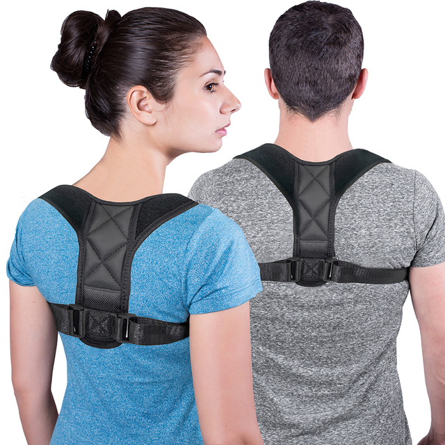 VIP DropShipping Medical Clavicle Posture Corrector Adult Children Back Support Belt Corset Orthopedic Brace Shoulder Correct