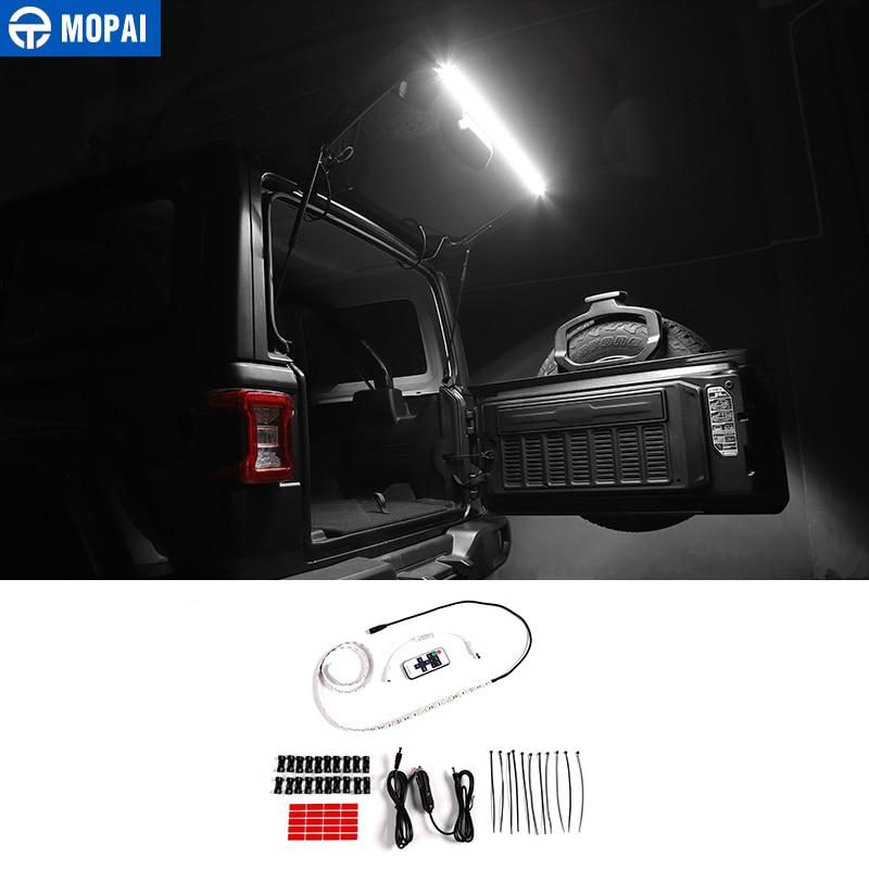 Светодиодная лампа Mopai для автомобилей Jeep Wrangler TJ JK JL 1997-2019