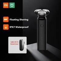 Xiaomi Mijia Elektrische Rasierer rasierer Bart Haar Trimmer Wiederaufladbare für Männer Dual-Blade-3D Kopf Trocken Nass Rasieren Maschine Waschbar