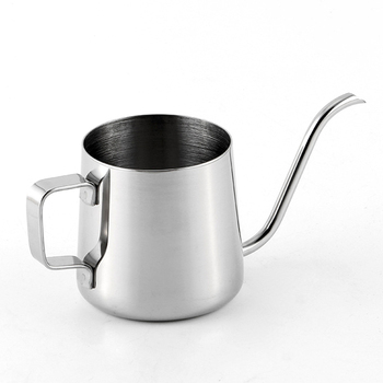 250ml Coffee Pot Drip Long Spout Stainless Steel Kitchen Tea Tool Teapot Kettle|Pitchers| |  -
