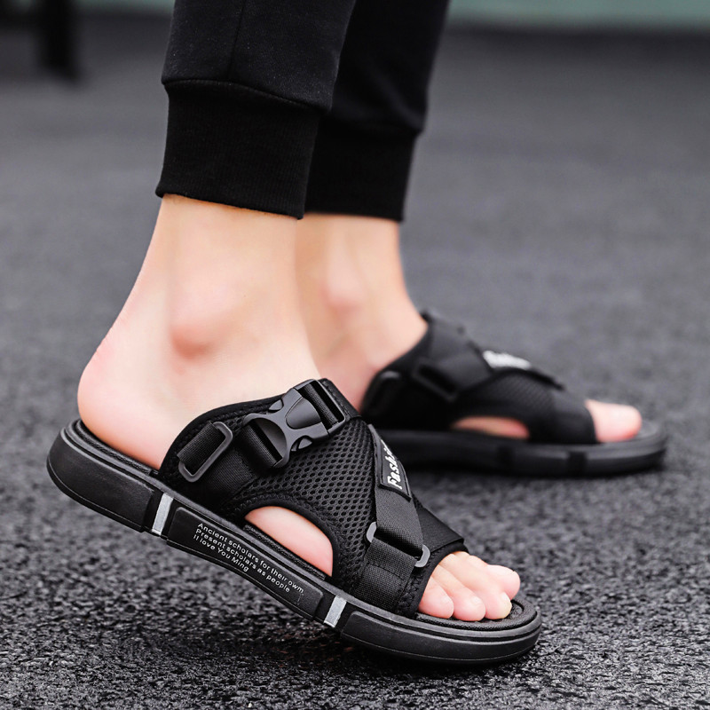 Light Men's Running Shoes Comfortable Breathable Mesh Sneaker Casual Wear-resistant Men Sport Shoes Summer Sandals And Slippers