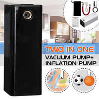Multi-Function Air Pump For Ball And Car Bike Tires Portable Air Compressor Mini Rechargeable Electric Air Inflator Intelligent