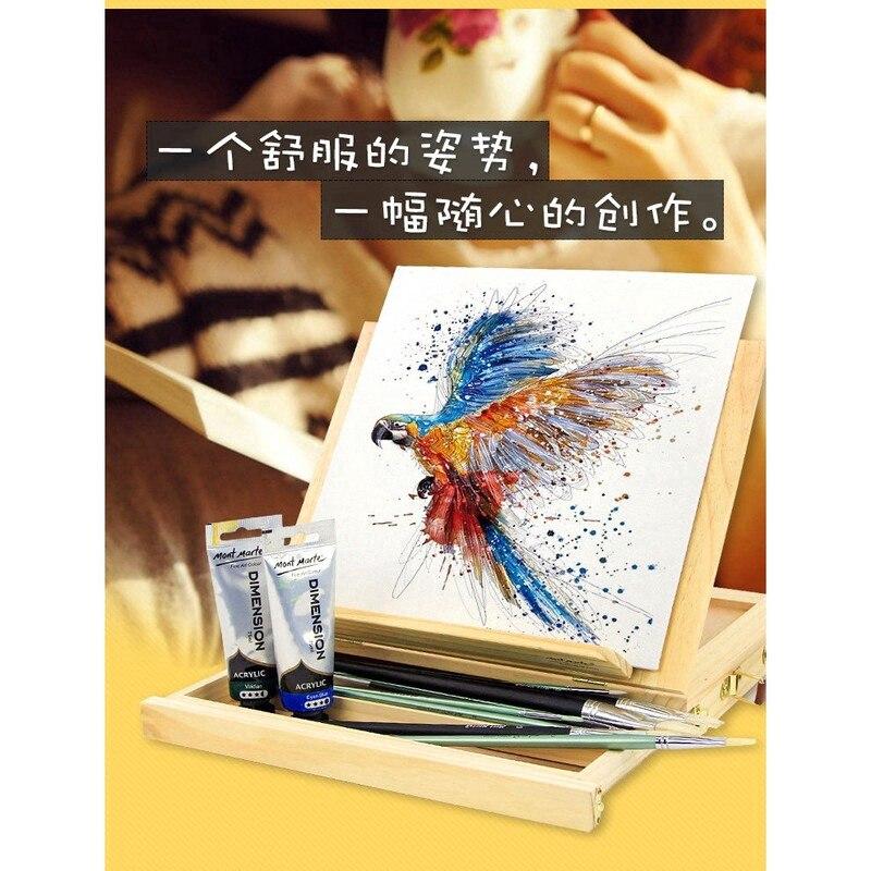 1pc file desktop caixa do portatil cavalete acessorios de ferragem pintura multifuncional mala titular caixa armazenamento