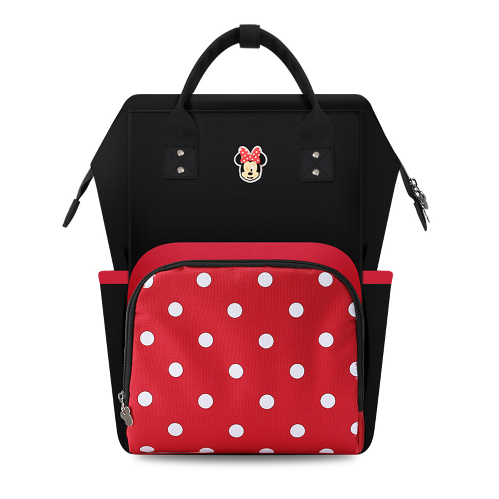 New Disney Minnie Mickey Diaper Bag Backpack Mummy Maternity Stroller Bag Large Capacity Baby Nappy Changing Bag Organizer