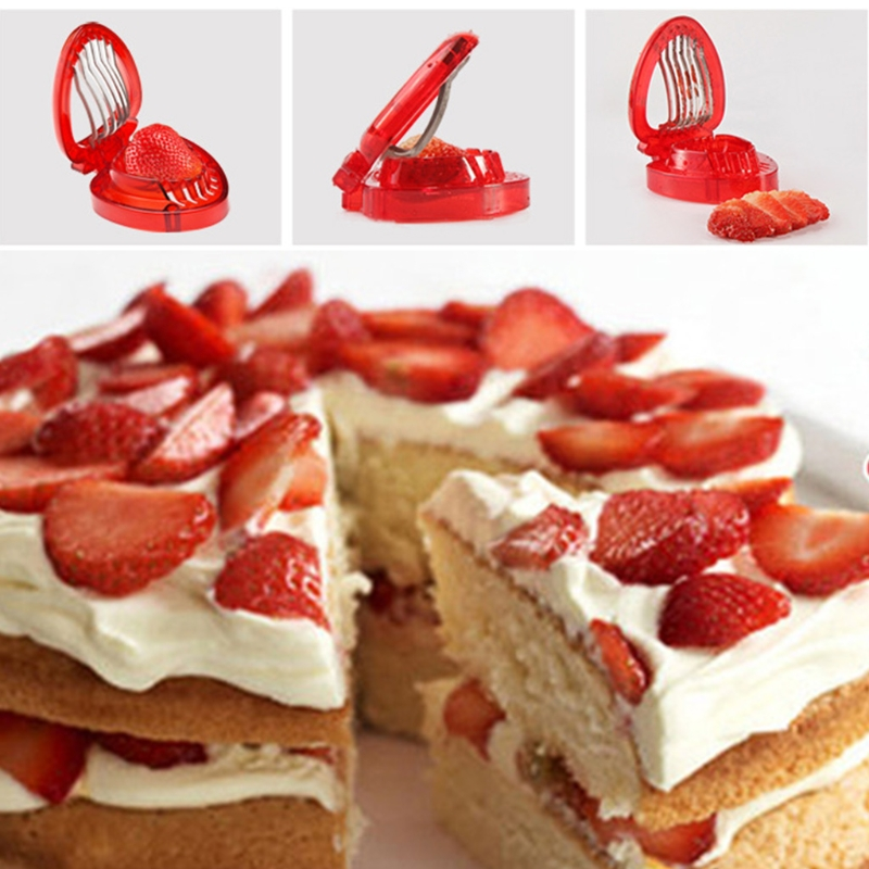 Stainless Steel Blade Kitchen Strawberry Slicer For Slicing Small Fruits And Decorating Plate Gadgets Tool Gadget Sets Aliexpress
