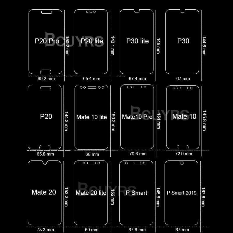 3 個強化ガラス Huawei 社 P30 P20 Lite P20 プロ 1080p スマート 2019 18 保護 Huawei 社のメイト 10 20 Lite スクリーンプロテクター