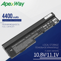 Apexway 4400 mAh Da Bateria Do Portátil para LENOVO IdeaPad u160 u165 S10-3 S205 L09M6Z14 L09S3Z14 L09S6Y14 57Y6442 57Y6446 57Y6517