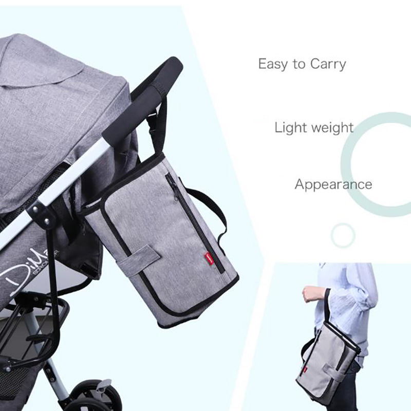 Mummy Maternity Nappy Bag  For Stroller Portable Nappy Changing Mat Multifunction  Waterproof Diaper Bags BFY020