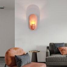Современный светильник роскошный светодиодный настенный розового