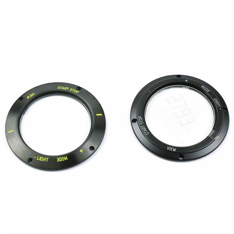 Watch Accessories Strap Case Mirror Suitable For Suunto Core Outdoor Sports Watch Dial Dark Black Aluminum Parts