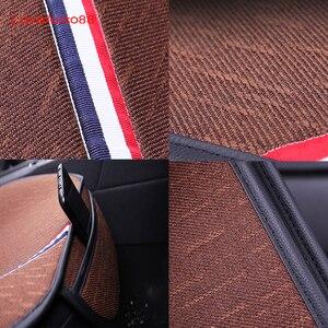 Image 5 - 3 قطعة غطاء مقعد السيارة مقاعد الجبهة الخلفية تنفس حامي حصيرة وسادة لمرسيدس بنز W176 W117 W212 W204 C63 CLA GLA A 45 AMG