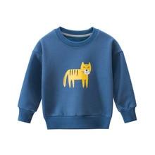 Winter Pullover Sweatshirt Clothing Animal Toddler Infant Sweet Cartoon Warm Cute Autumn
