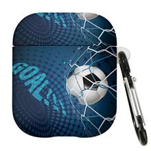 Motyw z piłką nożną Airpods 2 etui akcesoria do słuchawek luksusowe etui na słuchawki do Apple AirPods Pro 3 tanie tanio CN (pochodzenie) Słuchawki Przypadki Airpods 1 Airpods 2 Airpods 3 LEX00015
