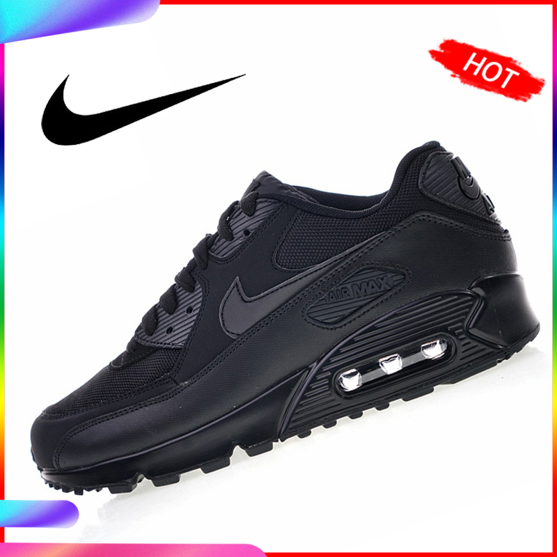 US $60.0 40% OFF Original Authentic Nike Air Max 90 Essential Men's Running Shoes Sport Outdoor Breathable Sneakers 2018 New Arrival 537384 090 in