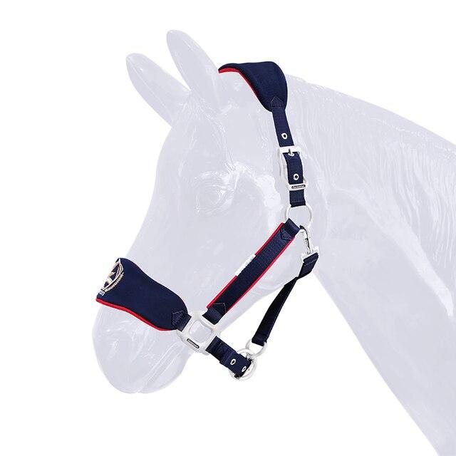 Soft & Adjustable Bridle Anti-wear Horse Halter - High-quality - Sturdy Equestrian Equipment  4