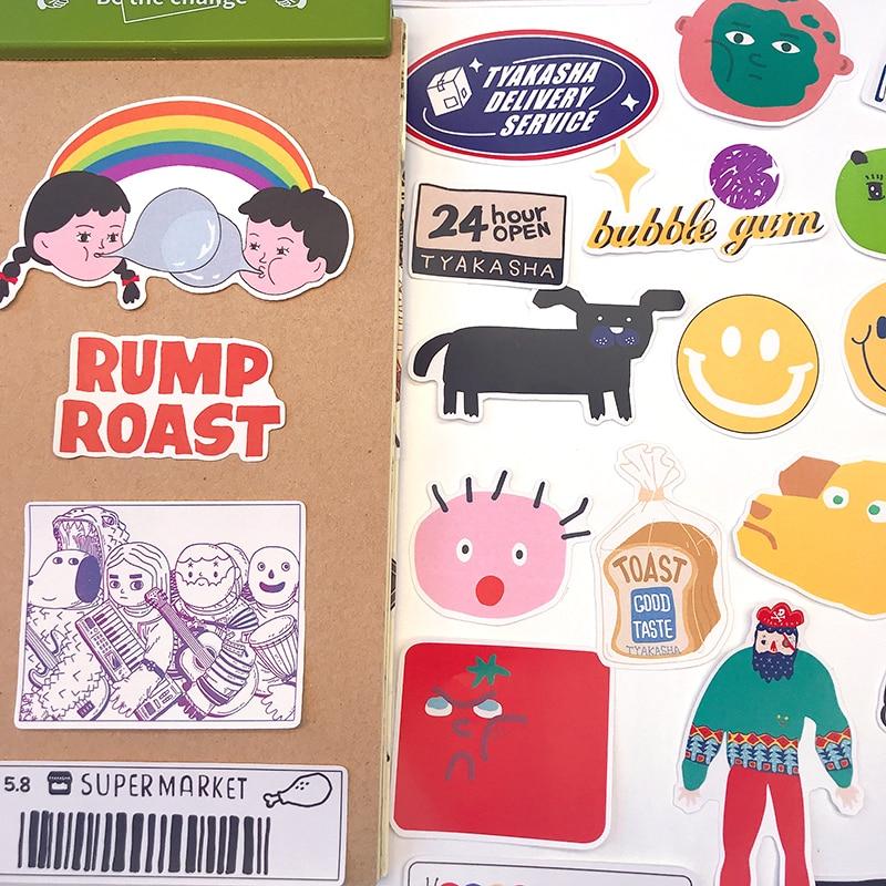 23pcsCreative Stickers DIY Scrapbooking Album Junk Journal Happy Planner Decorative Stickers