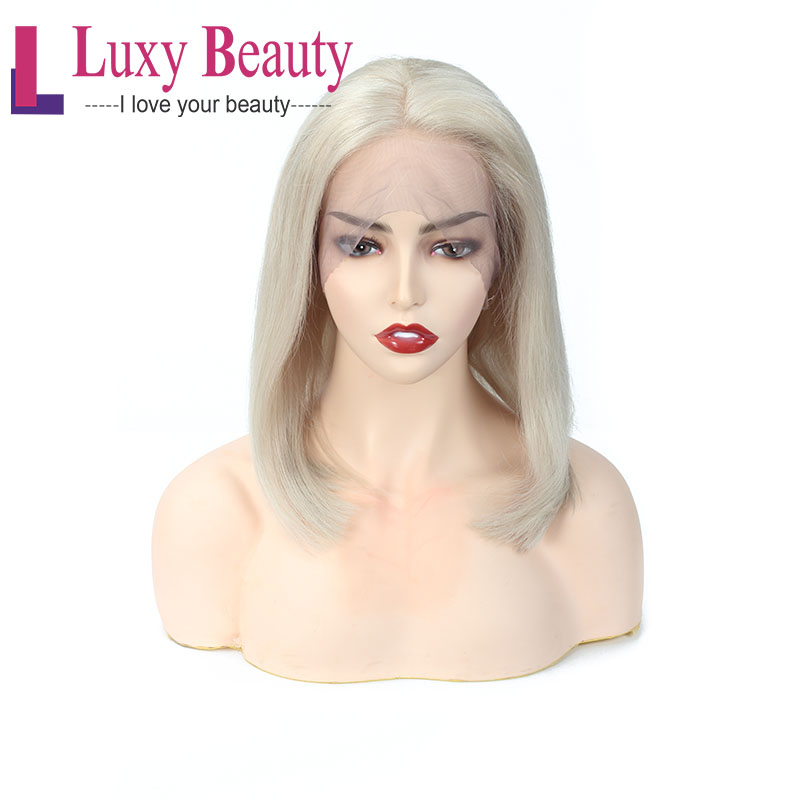 LuxyBeauty Lace Front Wig  For Women Color 60 Lace Front Human Hair Wigs 13