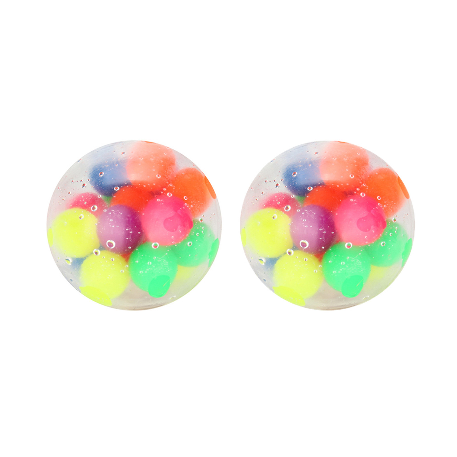 Figet Toys Stress-Ball Popit Pressure-Ball-Stress Reliever Color-Sensory 2PCS Office img2