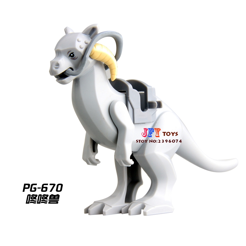 PG670 Han Solo Tauntaun Limited Version Building Blocks bricks Kid model Gift toys for children